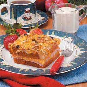 Apple-Cheddar French Toast