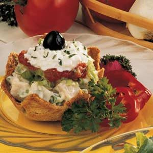 Turkey Salad Sundaes
