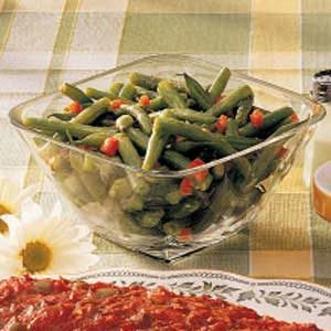 Tangy Green Beans