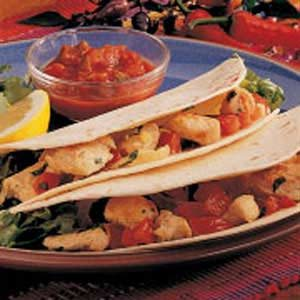 Lemon Chicken Tacos