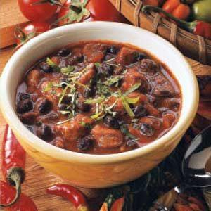 Bold Bean and Pork Chili