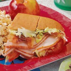Guacamole Turkey Subs