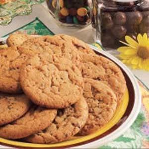 Malted Milk Cookies