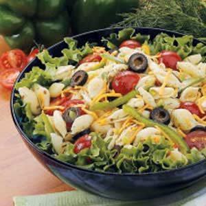 Dilly Veggie Pasta Salad