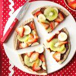 Chocolate-Hazelnut Fruit Pizza