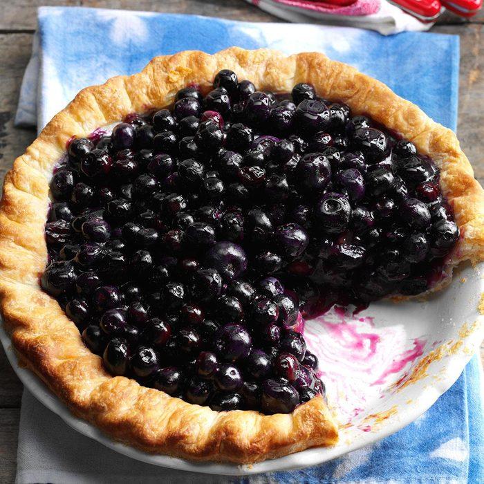 Cape Cod Blueberry Pie