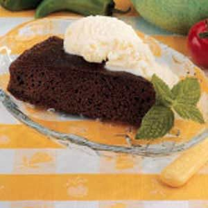 Rich Chocolate Snack Cake