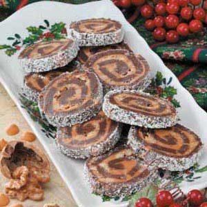 Butterscotch Brownie Pinwheels