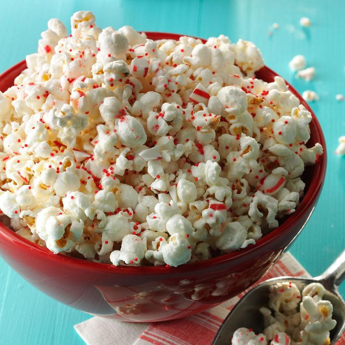 Inspired by: Angie's BOOM CHICKA POP White Chocolate & Peppermint Flavored Kettle Corn