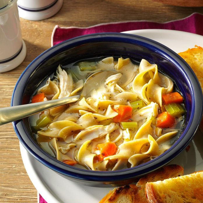 Inspired by: Noodles & Company's Chicken Noodle Soup