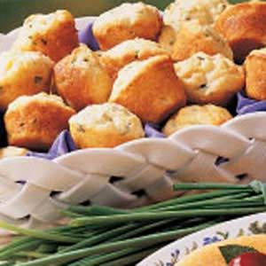 Chive Mini Muffins