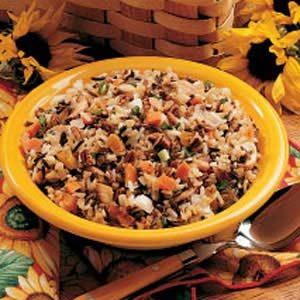 Three-Rice Pilaf