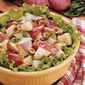 Easy Italian Potato Salad