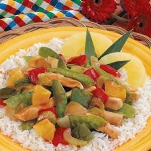 Pineapple Veggie Chicken