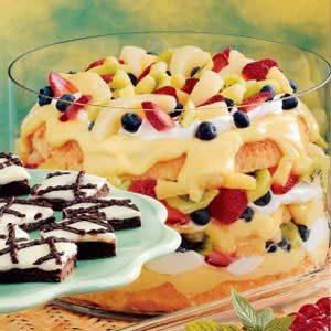 Fruity Angel Food Trifle