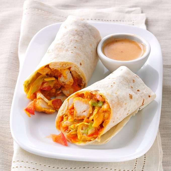 Inspired by: Buffalo Chicken Snack Wrap