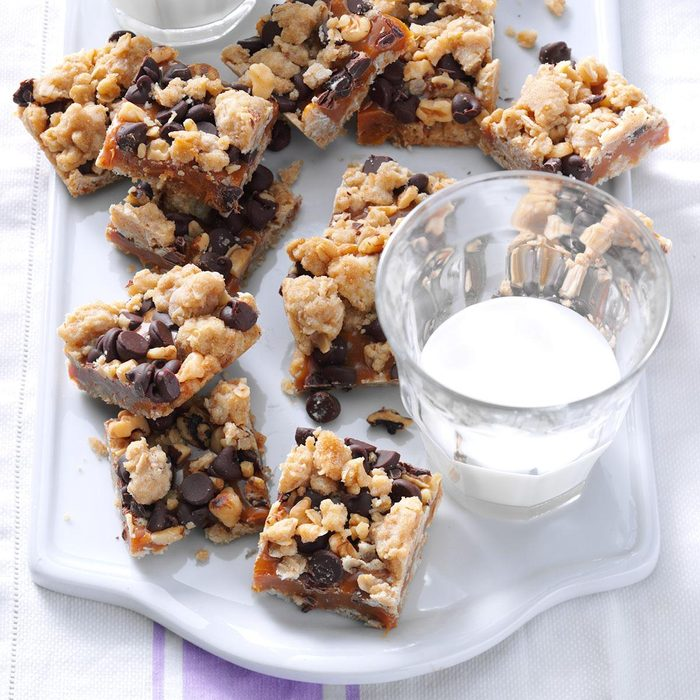 Caramel Nut Bars