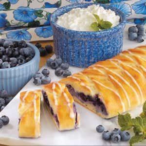 Blueberry Cheese Danish