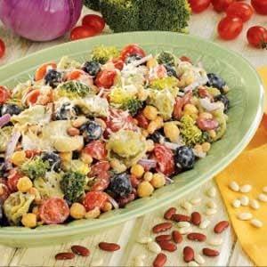 Tortellini Bean Salad