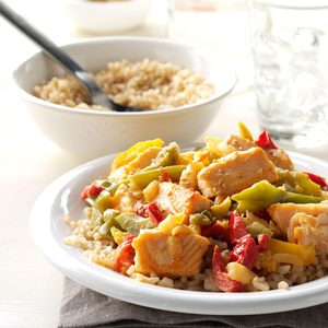 Speedy Salmon Stir-Fry