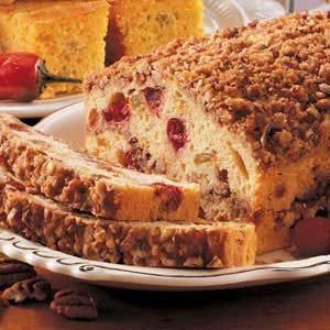 Cranberry Streusel Loaf