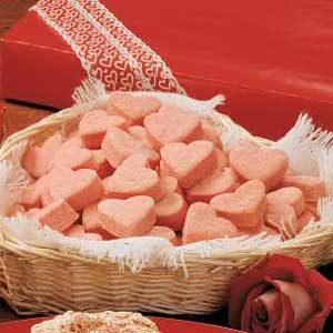 Sugarless Heart Cookies