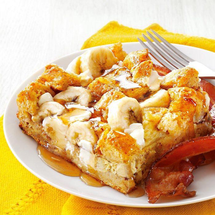 Banana French Toast Bake