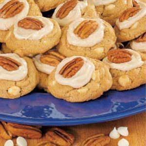 Vanilla Chip Maple Cookies