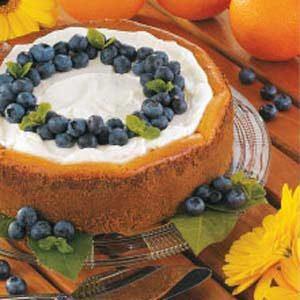 Blueberry Orange Cheesecake