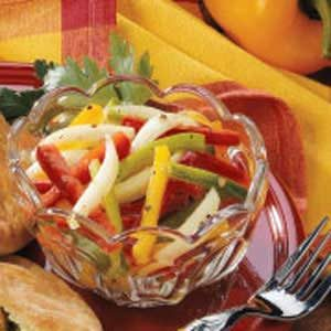 Quick Three-Pepper Salad