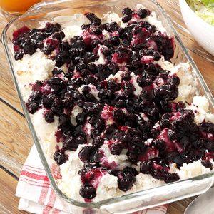 Blueberry Angel Dessert