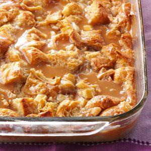 White Chocolate Macadamia Bread Pudding