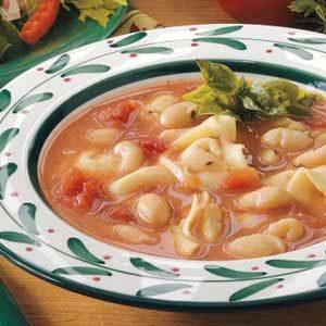 Too-Easy Tortellini Soup
