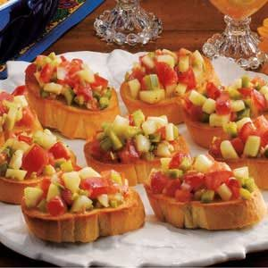 Veggie French Bread