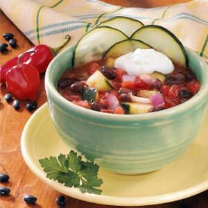 Chilled Bean Soup