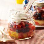 Picnic Berry Shortcakes