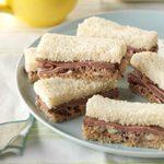 Roast Beef Finger Sandwiches