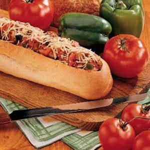 Sausage-Stuffed Loaf