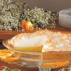 Sunshine Orange Meringue Pie
