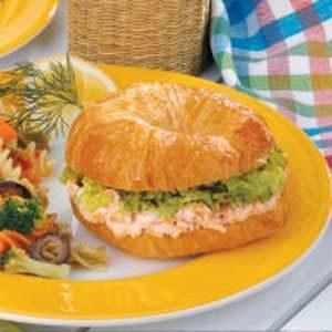 Salmon Dill Croissants