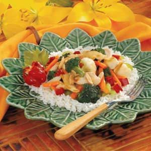 Almond Chicken Stir-Fry