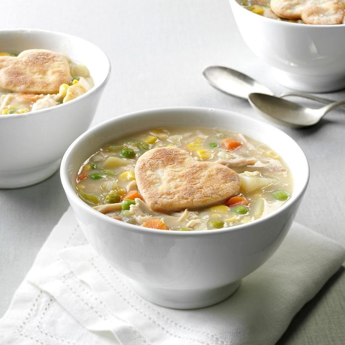 Inspired by: Chicken Potpie Soup from Zoup!