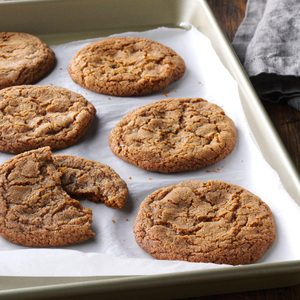 Spiced Toffee Cookies