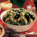 Lemon-Dilled Brussels Sprouts