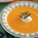 Creamy Carrot Parsnip Soup