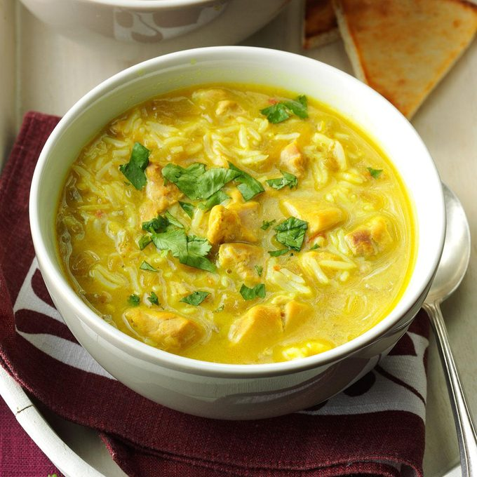 Coconut-Lime Chicken Curry Soup
