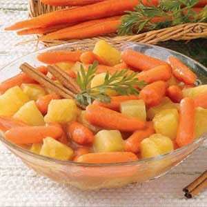Carrots and Pineapple