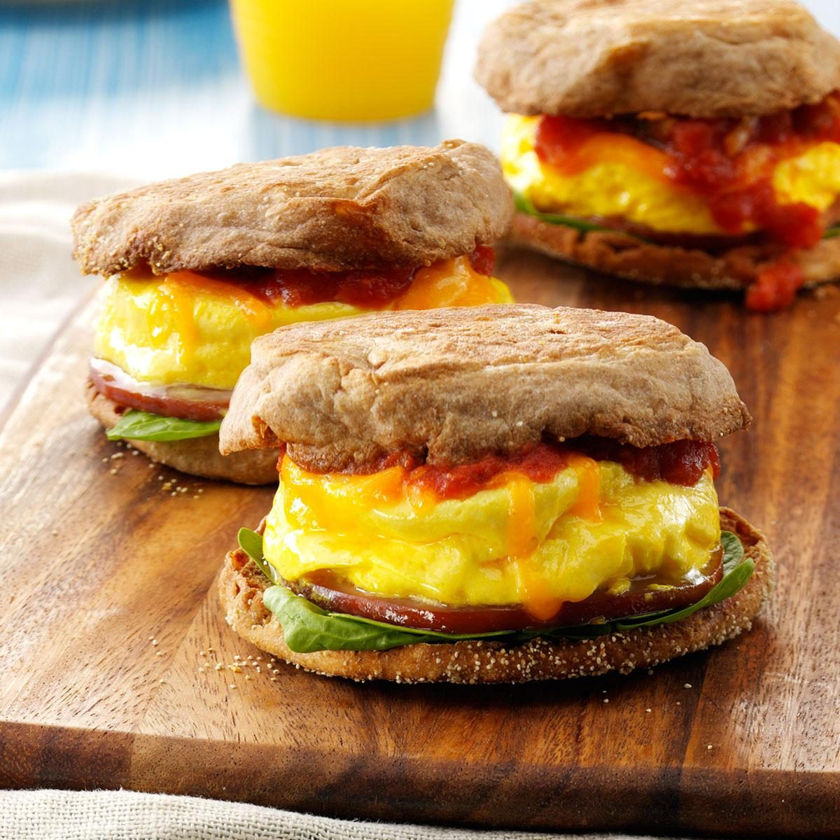 High School Age: Microwave Egg Sandwich