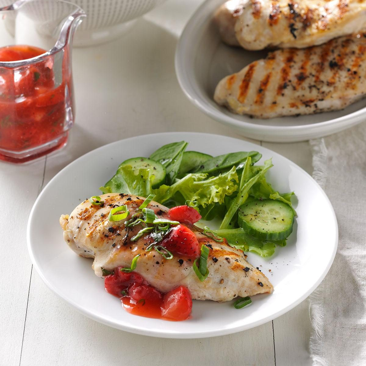 Strawberry Mint Chicken