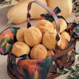 Homemade Butternut Squash Rolls